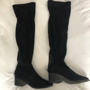 Georgette Over the Knee Boot